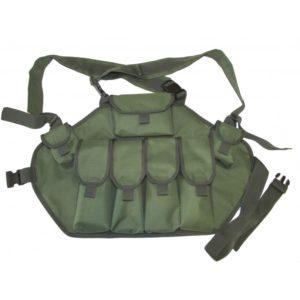 Военная разгрузка для АК (4 маг.,2 гранаты и аптечка)
