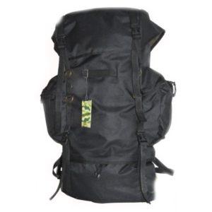 Рюкзак тактический на 65 л (цвет – черный)