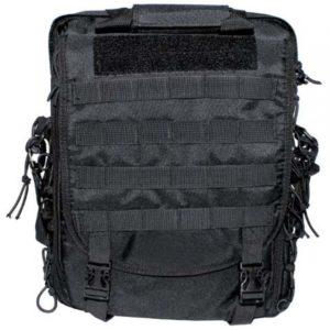 """Армейская сумка-рюкзак """"Трансформер"""" (цвет – черный)"""