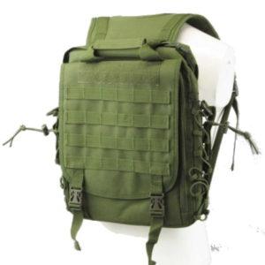 "Армейская сумка-рюкзак ""Трансформер"" (цвет – олива)"