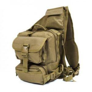 Рюкзак однолямочный койот