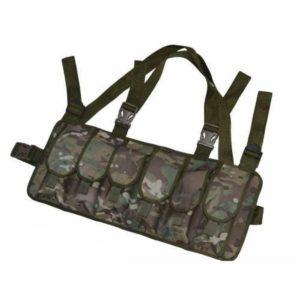 Военная разгрузка для 6 магазинов АК (мультикам)