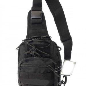 Рюкзак однолямочный(сумка-рюкзак) Black