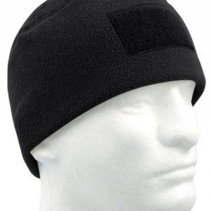 Флисовая шапка с липучкой под шеврон