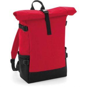 Городской Рюкзак Red Roll Top